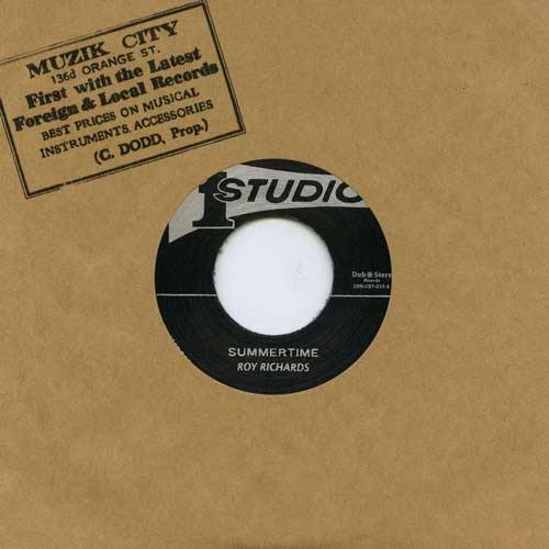 ROY RICHARDS - Summertime // SOUND DIMENSIONS - Soulful Strut - 7""