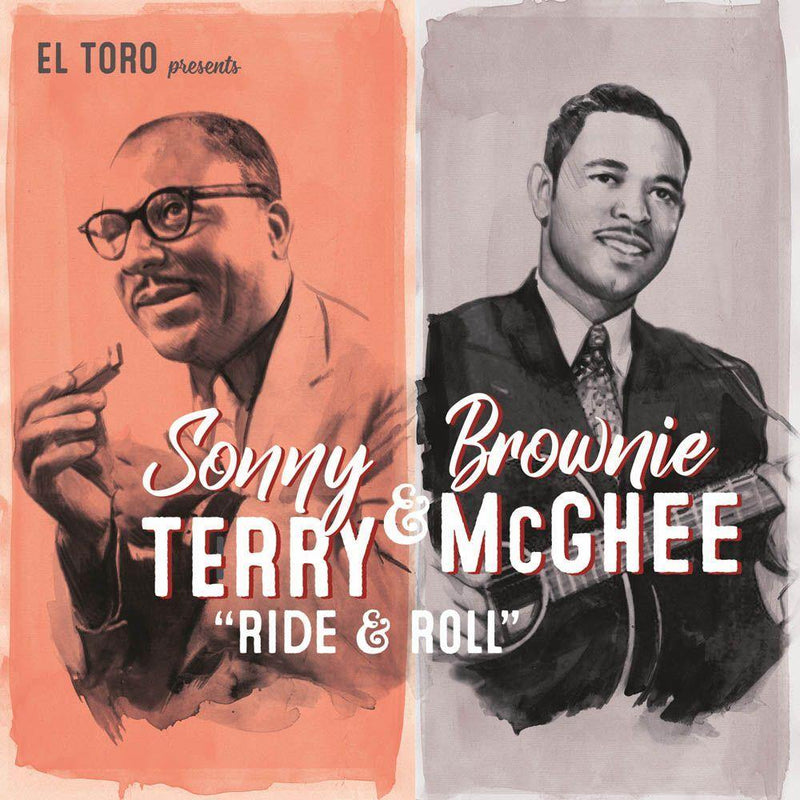 Sonny Terry & Brownie McGhee - Ride & Roll - 7inch EP