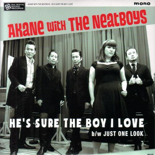 Akane with the Neatboys - He's Sure The Boy I Love - 7""