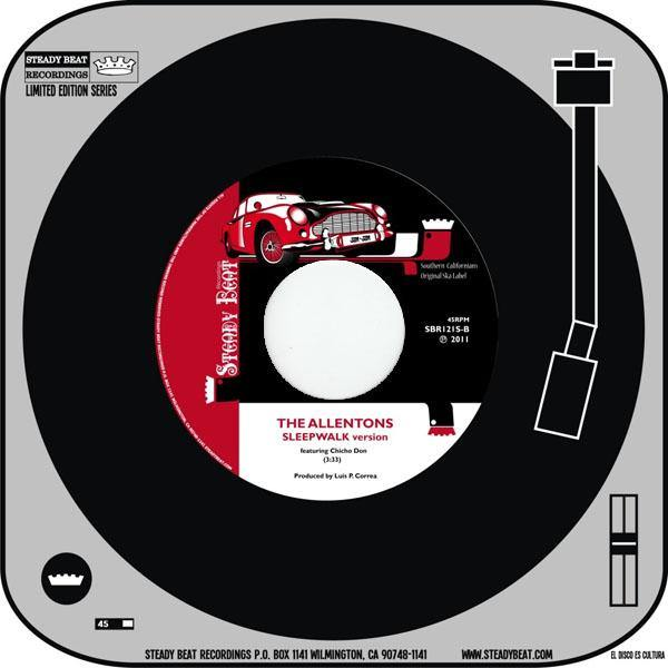 Allentons - Dreams // Sleepwalk (version)- 7""