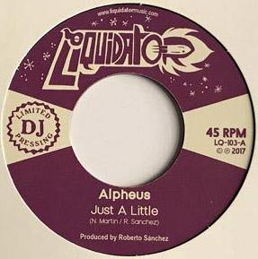 Alpheus - Just A Little // Sleeping Giant - 7""