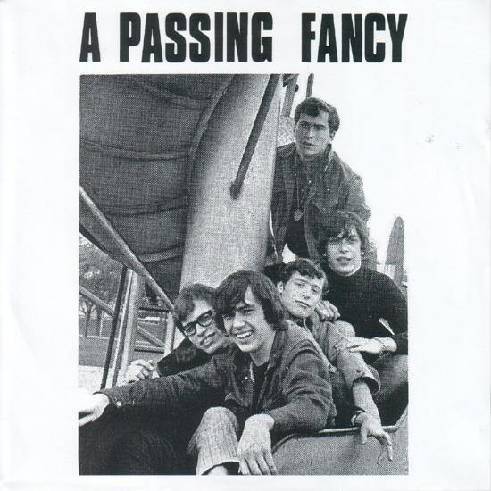 A PASSING FANCY - I'm Losing Tonight // A Passing Fancy - 7""