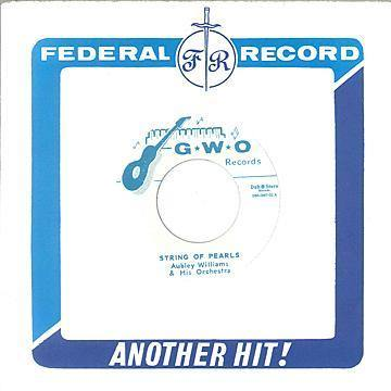 Aubley Williams & his Orchestra - String Of Pearls //  Granville Williams Orchestra - Third Man Theme - 7""