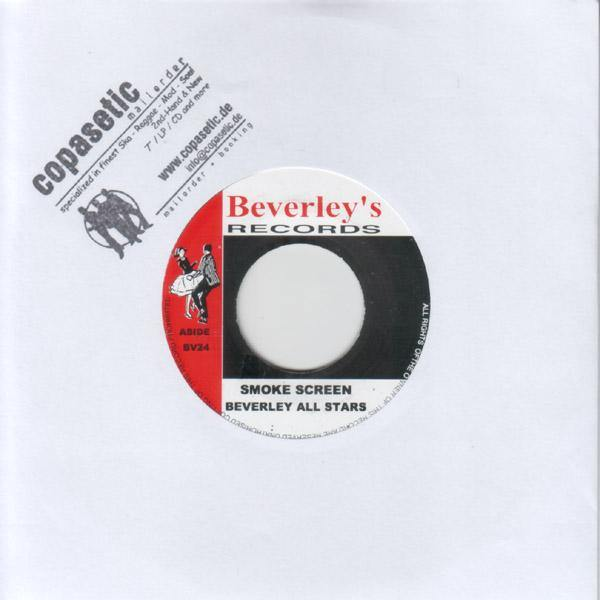 Beverley's All Stars - Smoke Screen // Baba Brooks - Sly Mongoose - 7""