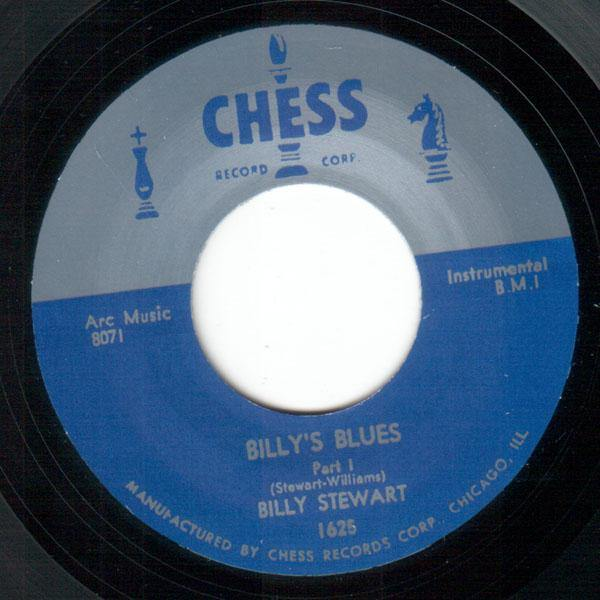 Billy Stewart - Billy's Blues Part 1 - 7""