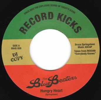 Bluebeaters - Hungry Heart // The Model - 7""