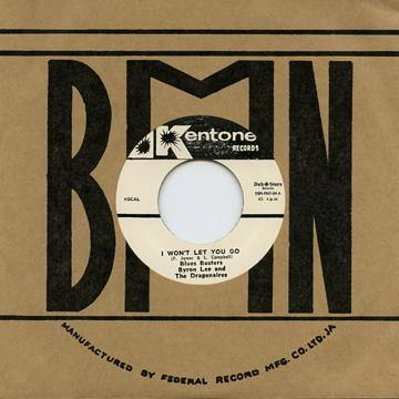 Blues Busters - I Won't Let You Go - 7""