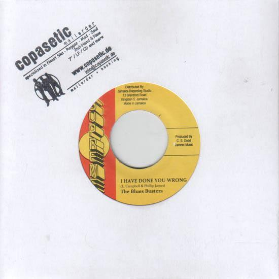 Blues Busters - I Have Done You Wrong // Owen and Leon - Down The Road - 7""
