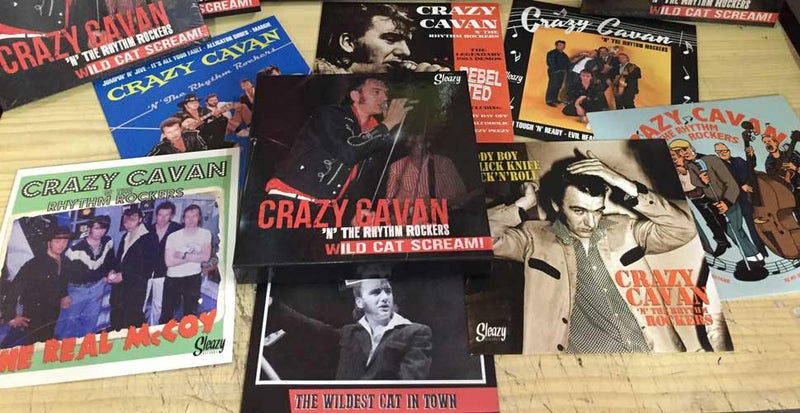 CRAZY CAVAN 'n the RHYTHM ROCKERS - Wild Cat Scream! - 6x7inch Box