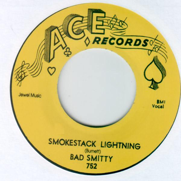 Bad Smitty - Smokestack Lightning // Walking With Smitty- 7""