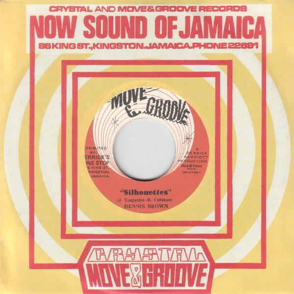 Dennis Brown - Silhouettes - 7""