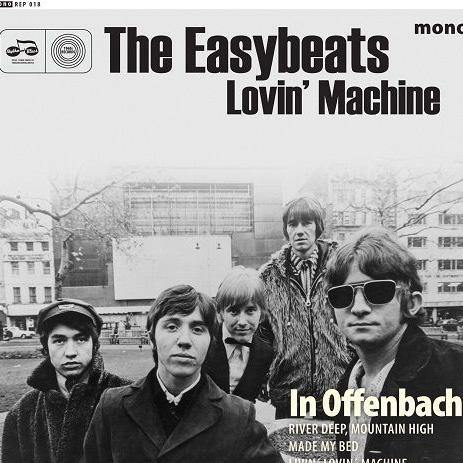 "The Easybeats - Lovin' Machine - 7""EP"