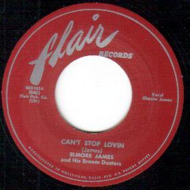 Elmore James - Can't Stop Lovin // Make A Little Love - 7""