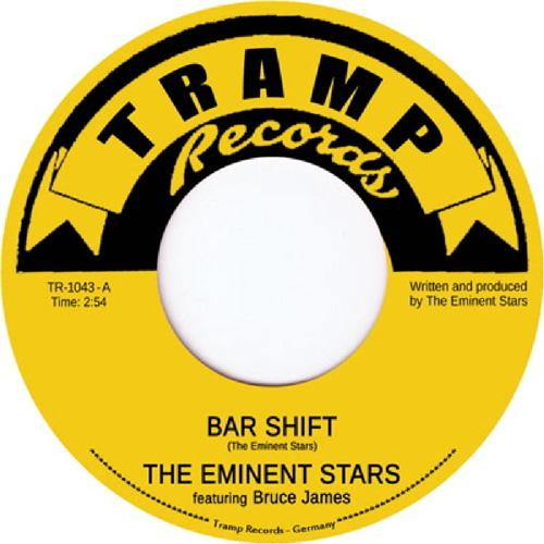 Eminent Stars feat. Bruce James - Bar Shift // Brown Thang - 7""