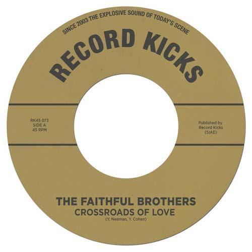 Faithful Brothers - Crossroads Of Love // One More Time - 7""