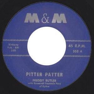 Freddy Butler - Pitter Patter // Roosevelt Fountain's - Boogie Twist - 7""