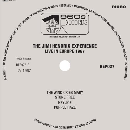 "The Jimi Hendrix Experience - Live In Europe 1967 - 7""EP"