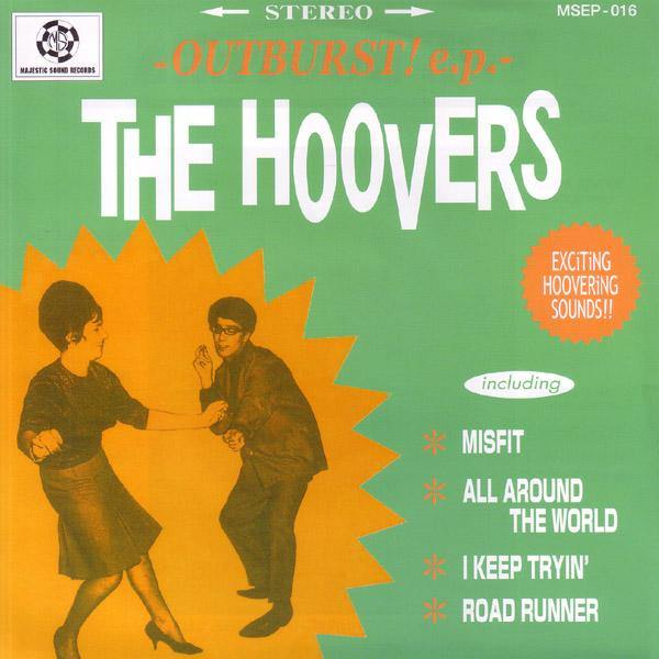 "Hoovers - Outburst! - 7""EP"