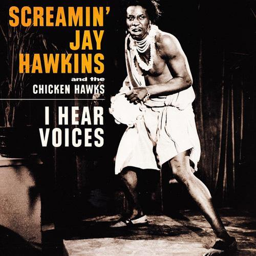 Screamin Jay Hawkins - I Hear Voices // Clovertones - Didn't It Rain - 7""