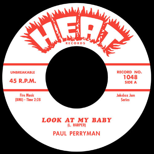 Paul Perryman - Look At My Baby // Keep A'Calling - 7""