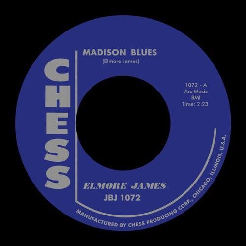 Elmore James - Madison Blues // Stormy Monday Blues - 7""