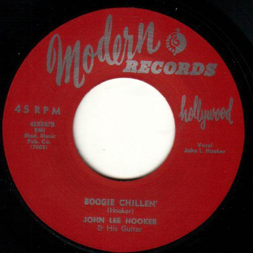 John Lee Hooker - Boogie Chillen // Sally Mae - 7""
