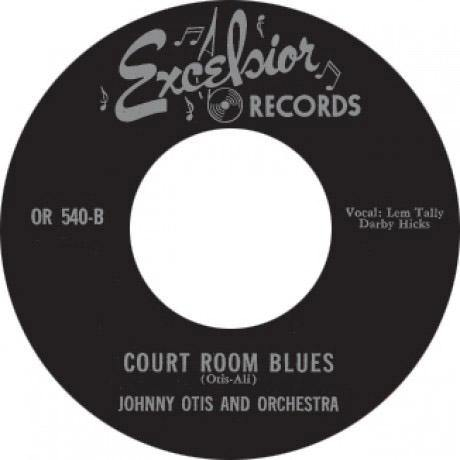 FOUR BLUEBIRDS – MY BABY DONE TOLD ME // JOHNNY OTIS – COURT ROOM BLUES - 7""