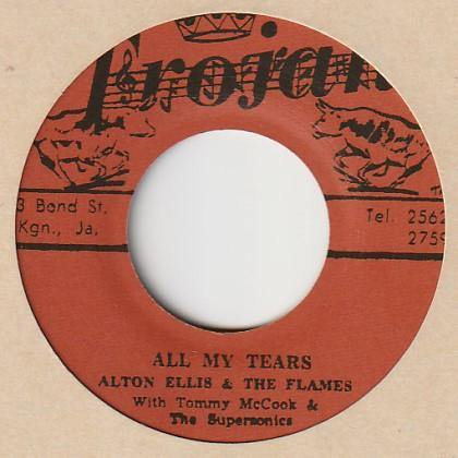Alton Ellis - All My Tears - 7""
