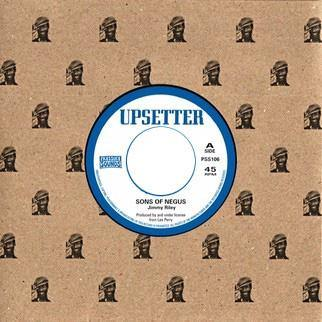 Jimmy Riley - Sons Of Negus // Upsetter - Kingdom Of Dub  - 7""
