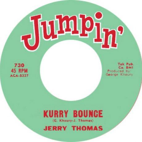 JERRY THOMAS – KURRY BOUNCE // D.C. WASHINGTON – THE MOHAWK - 7""