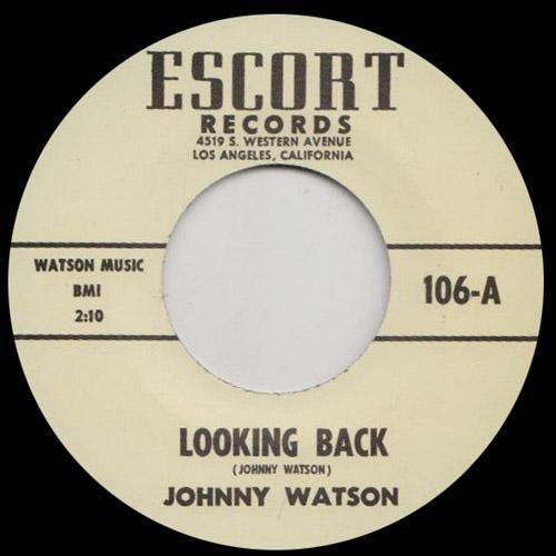 Johnny Watson - Looking Back // The Eagle Is Back - 7""