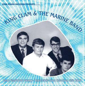 "King Clam & The Marine Band - Inertia // High Strung Woman / Skin Deep In The Morning - 7""EP"