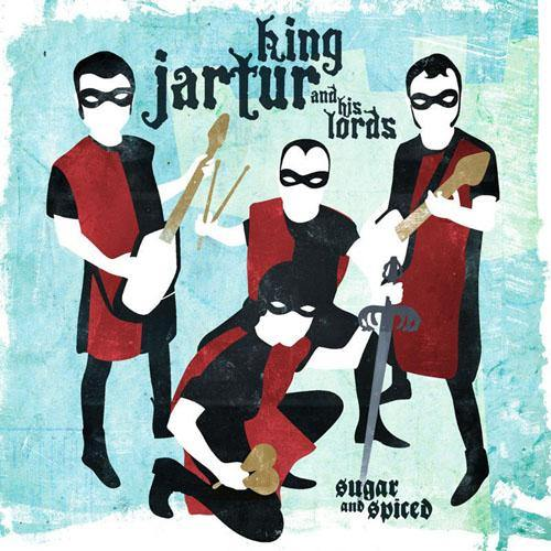 "King Jartur and his Lords - Sugar & Spiced - 7""EP"