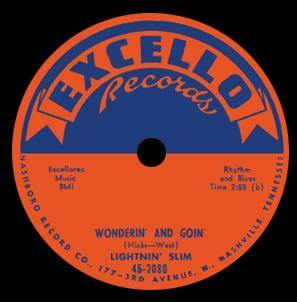 Lightning Slim - Wonderin' And Goin' // Mean Ole Lonesome Train - 7""