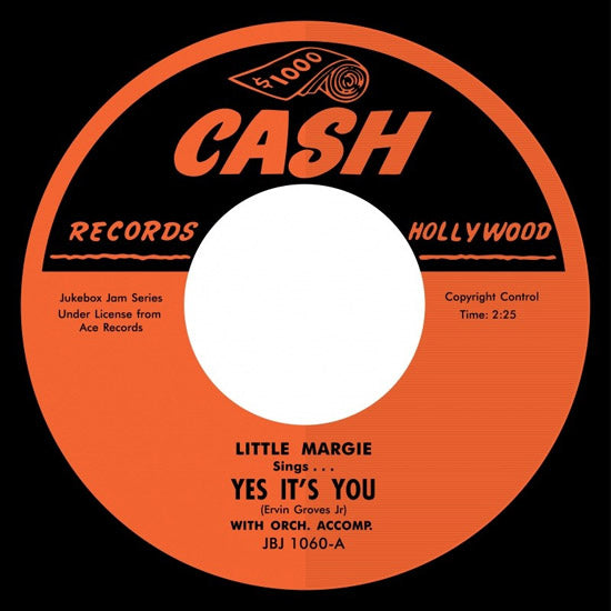 Little Margie - Yes It's YOu - 7""