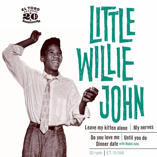 Little Willie John - Leave My Kitten Alone - 5-track EP
