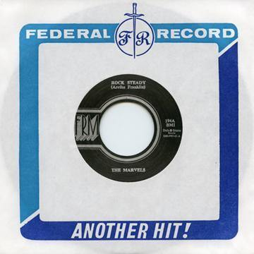 The Marvels - Rock Steady - 7""