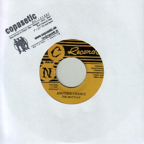 MAYTALS - Another Chance // Tommy McCook - Always On Sunday - 7""