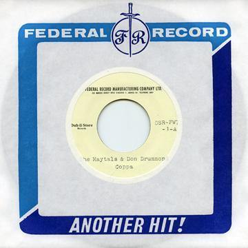The Maytals & Don Drummond - Coppa - 7""