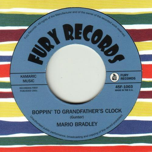 Mario Bradley - Boppin' To Grandfather's Clock // She Breaks Me Down - 7""