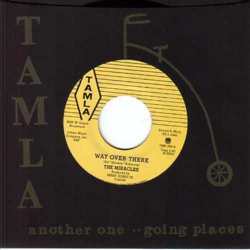Miracles - Way Over There / Depend On Me - 7""