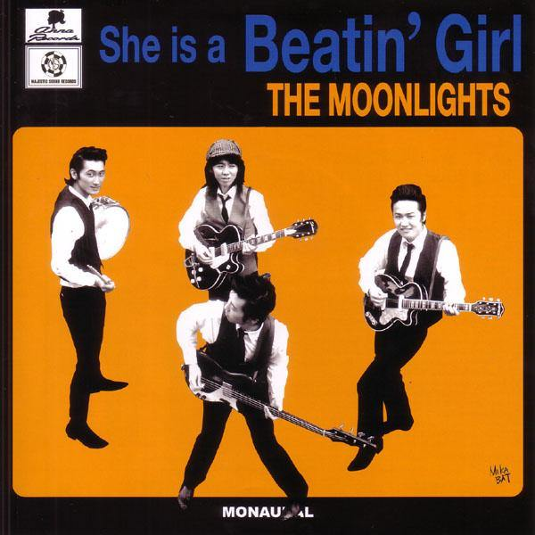 "Moonlights - She Is A Beatin' Girl - 7"" EP"