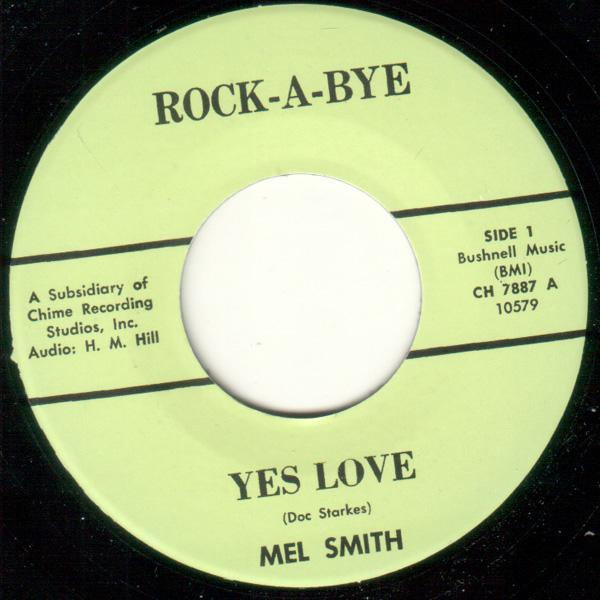 Mel Smith - Yes Love // Peter Roberts - The Ho-Ho Laughing Monster - 7""