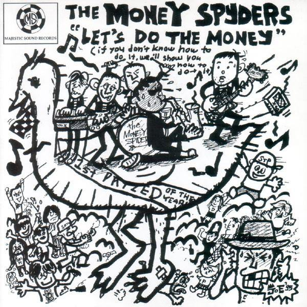 "Money Spyders  - Let's Do The Money - 4-track 7""EP"