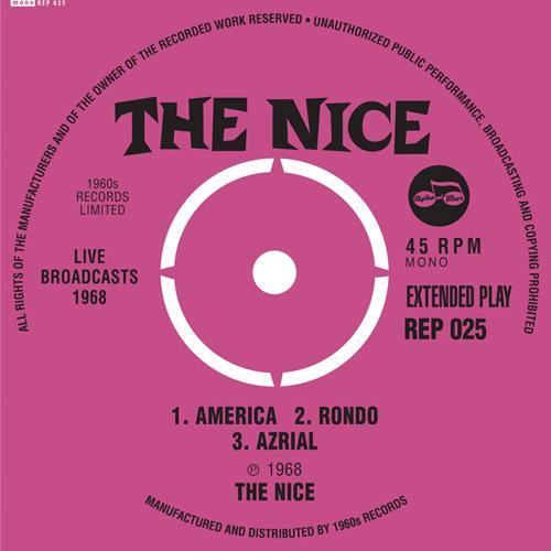 "The Nice - Live Broadcasts 1968 - 7""EP"