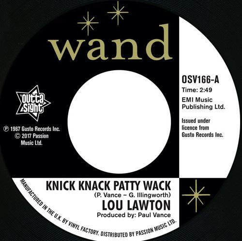 Lou Lawton - Knick Knack Patty Wack - 7""