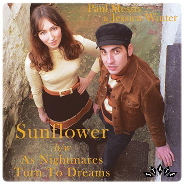 Paul Messis & Jessica Winter - Sunflower // As Nightmares Turn To Dreams - 7""
