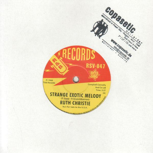 Ruth Christie - Strange Exotic Melody // This Must Be Love - 7""