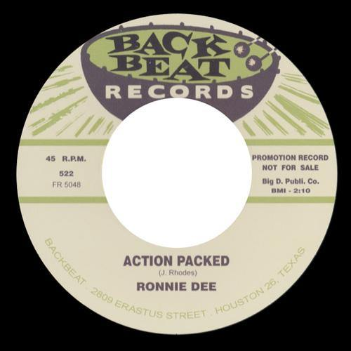 Ronnie Dee - Action Packed - 7""