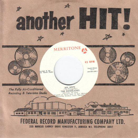 The Renegades - Mr Hops - 7""